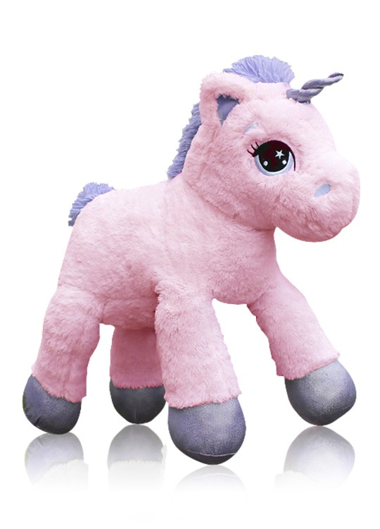 peluche licorne acheter la peluche g ante rose blanche. Black Bedroom Furniture Sets. Home Design Ideas