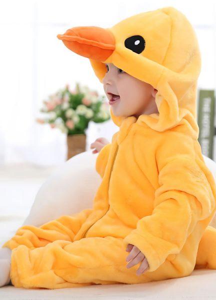 Pyjama Combinaison Bébé Canard 3