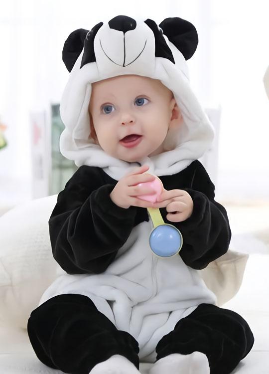 5f1535388eda4 Pyjama Barboteuse Panda Bébé