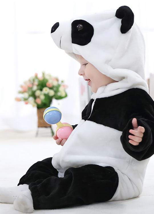 Pyjama Combinaison Bébé Panda 3