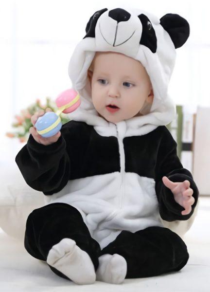 Pyjama Combinaison Bébé Panda 2