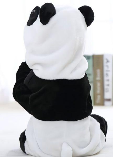 Pyjama Combinaison Bébé Panda Vue de Dos