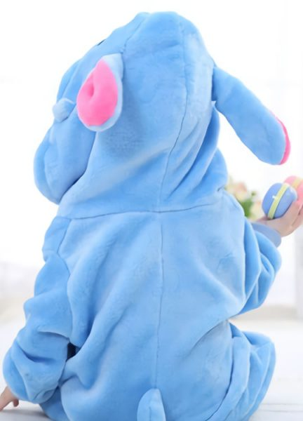 Pyjama Combinaison Bébé Stitch Vue de Dos