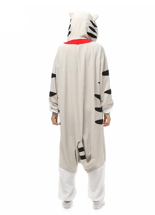Pyjama Combinaison Chat Vue de Dos Avec Capuche
