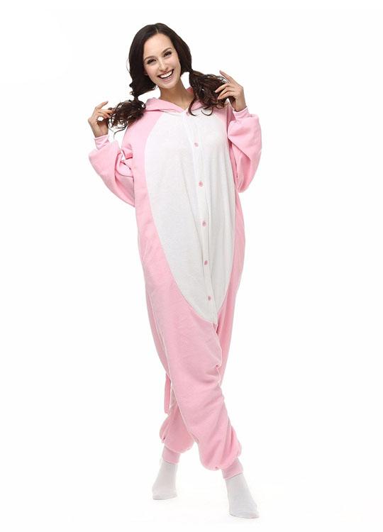 Pyjama Combinaison Cochon Vue De Face