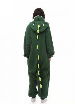 Pyjama Combinaison Dinosaure Vue De Dos