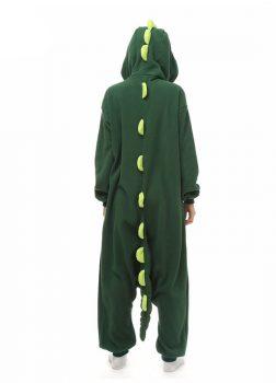 Pyjama Combinaison Dinosaure Vue De Dos Avec Capuche