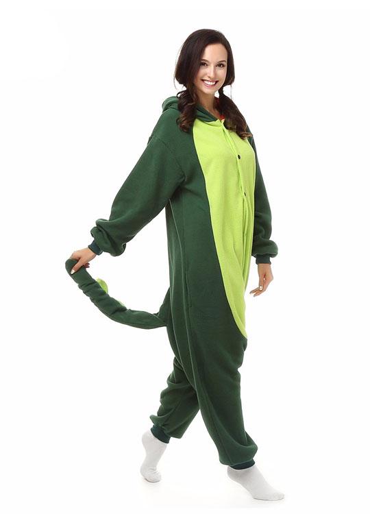 Pyjama Combinaison Dinosaure Vue De Face