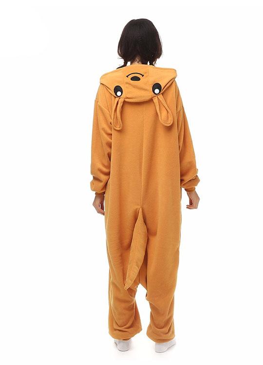 Pyjama Combinaison Kangourou Vue De Dos
