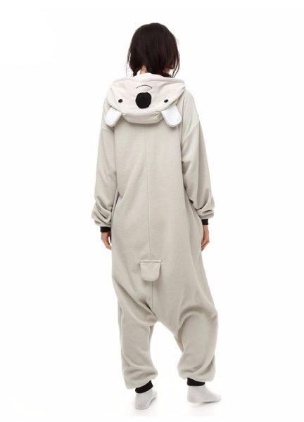 Pyjama Combinaison Koala Vue De Dos