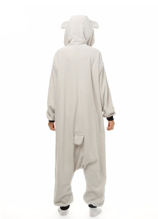 Pyjama Combinaison Koala Vue De Dos Avec Capuche