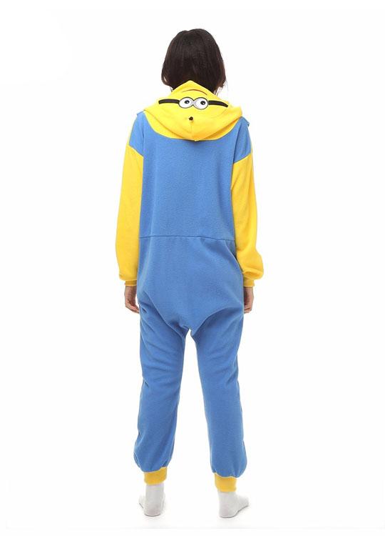 Pyjama Combinaison Minion Vue De Dos
