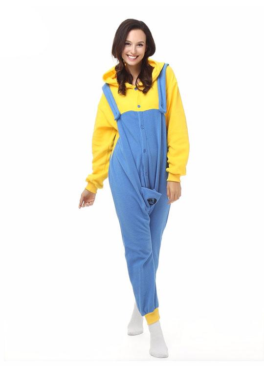 Pyjama Combinaison Minion Vue De Face