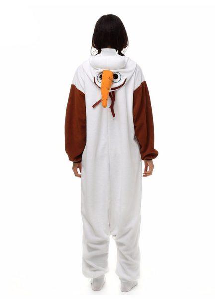 Pyjama Combinaison Olaf Vue De Dos