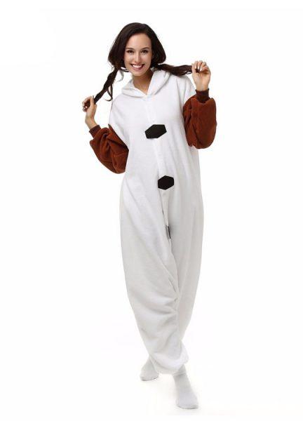 Pyjama Combinaison Olaf Vue De Face