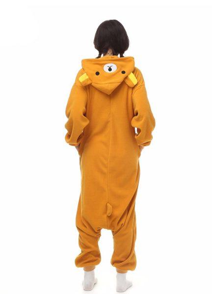 Pyjama Combinaison Ours Vue De Dos