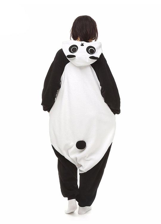 Pyjama Combinaison Panda Vue De Dos Sans Capuche