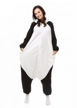 Kigurumi Panda Vue De Face Avec Capuche 3