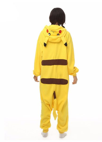 Pyjama Combinaison Pikachu Vue De Dos