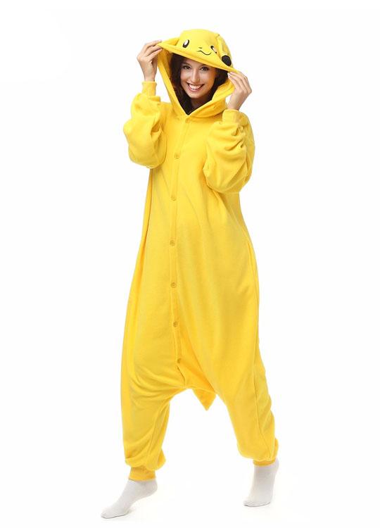 Pyjama Pikachu La Combinaison Kigurumi De 2017 Pas Cher