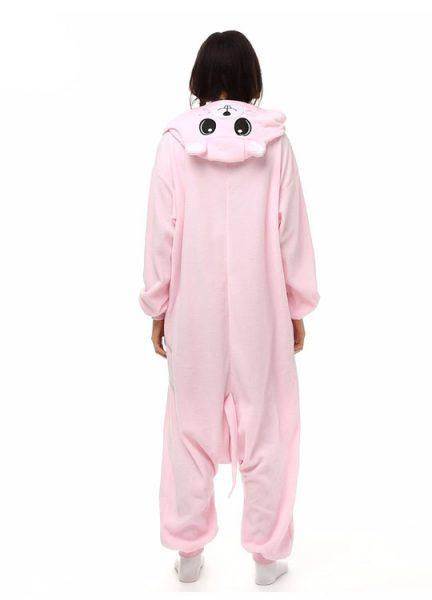 Pyjama Combinaison Souris Vue De Dos