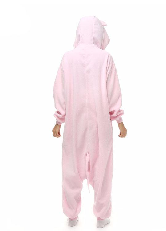 Pyjama Combinaison Souris Vue De Dos Avec Capuche
