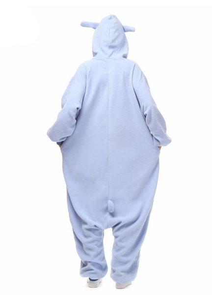 Pyjama Combinaison Stitch Vue De Dos Avec Capuche