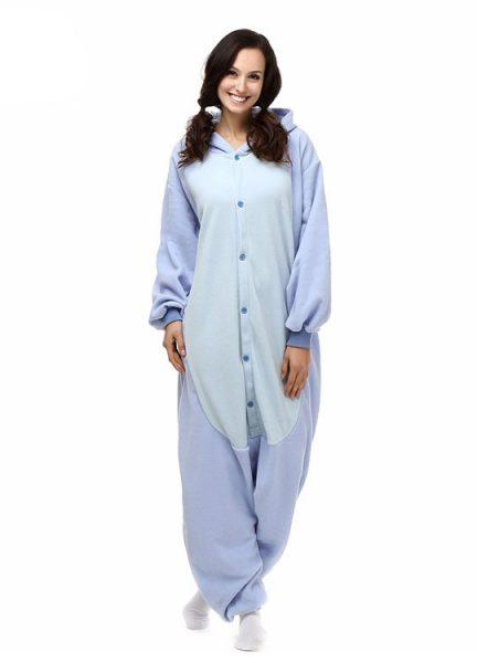 Pyjama Combinaison Stitch Vue De Face