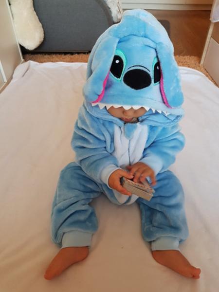 Pyjama Barboteuse Stitch Bébé photo review