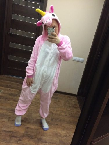 Kigurumi Licorne Rose photo review