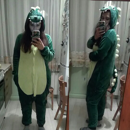 Kigurumi Dinosaure photo review