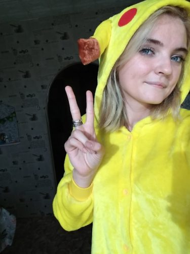 Pyjama Pikachu photo review