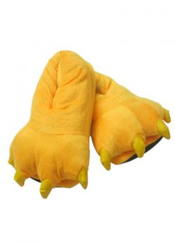 Chaussons Animal Jaune