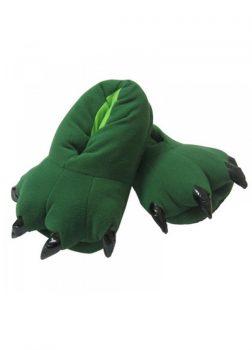 Chaussons Animal Vert