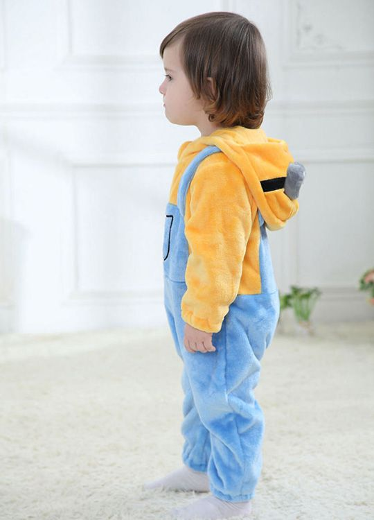 Pyjama Bébé Minions - Vue de Coté