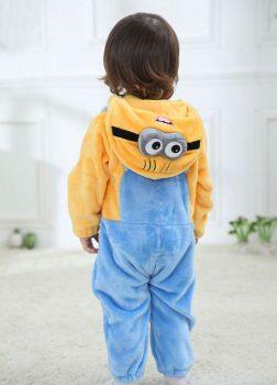 Pyjama Bébé Minions - Vue de Dos