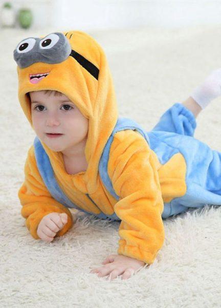 Pyjama Bébé Minions - Vue de Face 2
