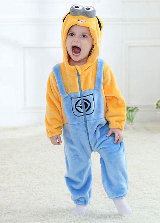Pyjama Bébé Minions - Vue de Face Détail