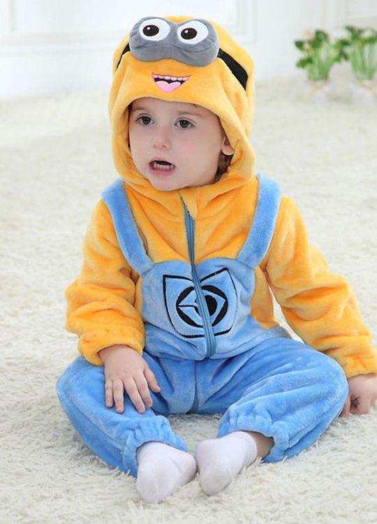 Pyjama Bébé Minions - Vue de Face