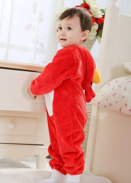 Pyjama Bébé Oiseau - Vue de Dos