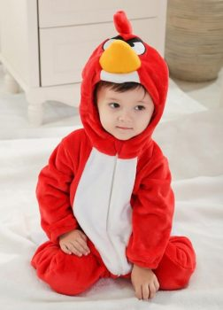 Pyjama Bébé Oiseau - Vue de Face