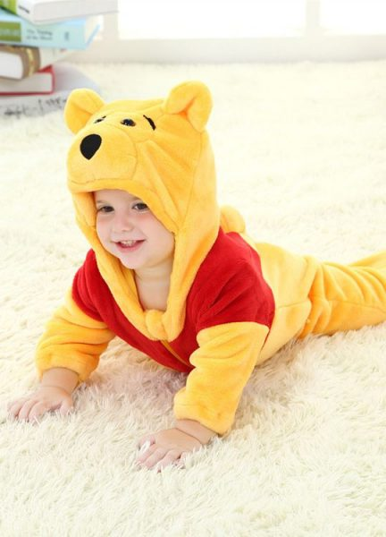 Pyjama Bébé Ourson - Vue de Coté