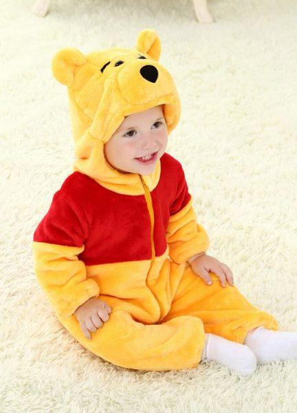 Pyjama Bébé Ourson - Vue de Face 2