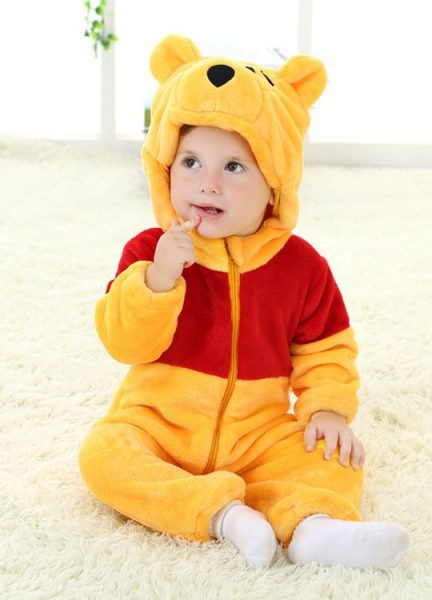Pyjama Bébé Ourson - Vue de Face