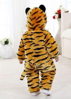 Pyjama Bébé Tigre - Vue de Dos
