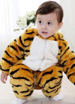 Pyjama Bébé Tigre - Vue de Face 2