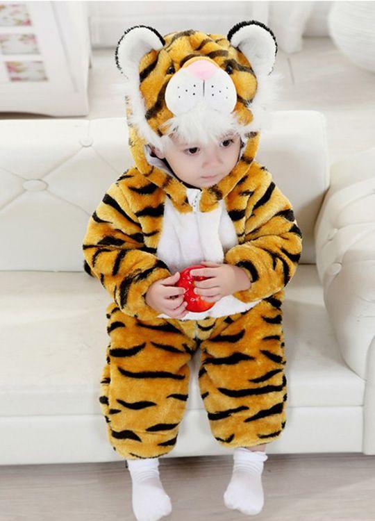 Pyjama Bébé Tigre - Vue de Face