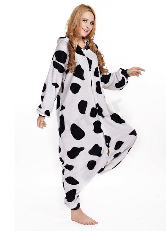 Pyjama Vache - Vue de Coté