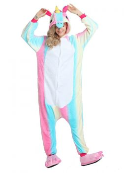 pyjama licorne Arc En Ciel - Vue de Face