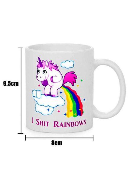 Hippie Licorne - Rainbow - Taille